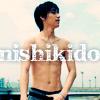 Ryo shirtless