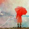 mizery_graphics: Red Umbrella
