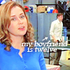 office: my boyfriend is twelve