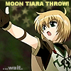 MOON TIARA THROW!