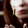 duckbunny: Dr. Who Donna holding Adipose pendant