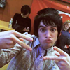peace up a-town down! (brendon)