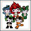 FUWA mascots 2008