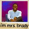 Sarah: Mrs. Brady