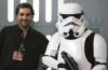 me geeking  storm troopers