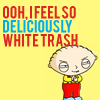 deliciously white trash