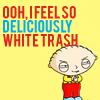 deliciously white trash