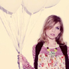 Clemence Poesy- Balloons