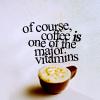 Reggie: Coffee vitamins