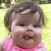 sarah tongue out