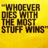 whoever dies...