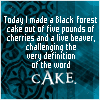 sartre's cake