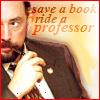 SSA McGeek: Save a Book.....Ride a Professor