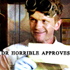 Amanda: dr horrible approves