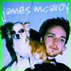 James McAvoy - Puppy! <3