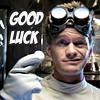 again with the blarg: good luck!