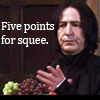 auntpurl: Snape 5 points