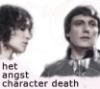they say he has no mouth: het angst character death