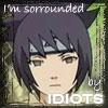 Anko -- I am surrounded by idiots...