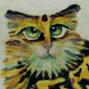 пестрая кошка