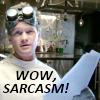 Dr. Horrible -sarcasm