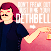 murderface, metalocalypse, mtl: murdering outside the box, helpful, death bell