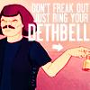 murderface, metalocalypse, mtl: murdering outside the box, helpful, death bell