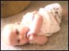 shyla on the floor