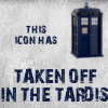 Taken off in the TARDIS