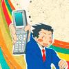 Phoenix Wright [happy cellphone]