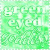 αѕнℓєу ℓуηη: Green Eyes // Goddess.