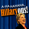 miss super-duper crime-fighting goody two-shoes: etc ● hillary is laughing at you