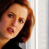 Agent Dana Scully: taken by surprise