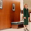 Agent Dana Scully: contemplation in the corridor