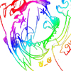 Tobi/ bathed in rainbow