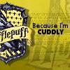 Hufflepuff - cuddly