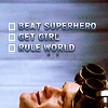 to do list from Dr Horrible