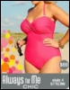 cutest one piece, plus size one piece, as seen in seventeen magazine, plus size swimsuit