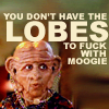 Moogie's lobes [DS9 snarky]