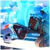 Wall-E Treads On M-O
