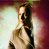Agent Dana Scully: not without a fight