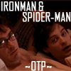 Damnedrobot: spiderman and ironman