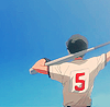 anime - oofuri - blue n baseball