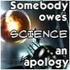 apologize to science