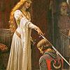 painting: brave sir knight