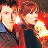 doctor/donna burning bright