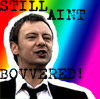 Doctor Who- The Master ain't bovvered