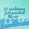 57 academics just punched the air