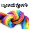 Wyoming Knott: wynot knits a rainbow