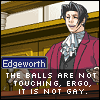 [PW] Edgeworth - The balls are not touch